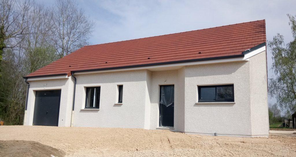 Livraison d'une construction neuve Bourgogne Bâtir à La Frête