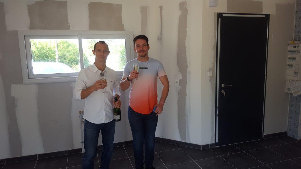 Livraison d'une construction neuve Bourgogne Bâtir à La Frête 3
