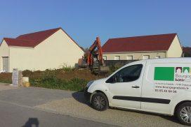 Démarrage d'une nouvelle construction à Corgoloin au Nord de Beaune !