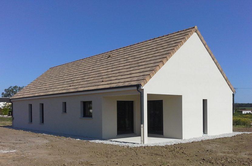 Livraison d'une construction neuve Bourgogne Bâtir à Virey le Grand au nord de Chalon sur Saône