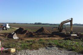 Démarrage d'une nouvelle construction à Allerey sur Saône !